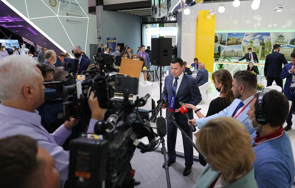 Дмитрий Миронов отметил закрепление Ярославской области в ТОП-10 инвестрейтинга