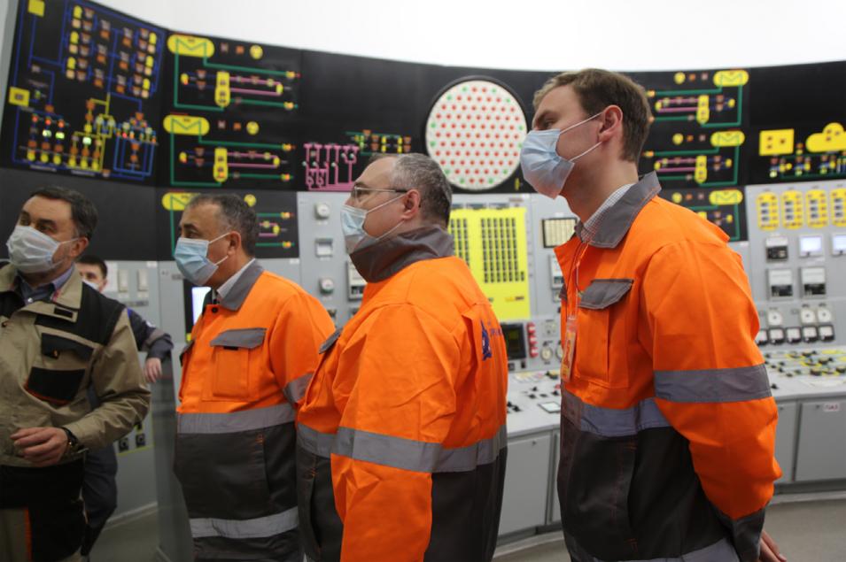 Представители Росатома высоко оценили внедрение системы бережливого производства на ЭБ №4 НВАЭС