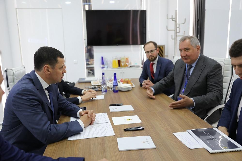 Губернатор Ярославской области договорился с «Роскосмосом»