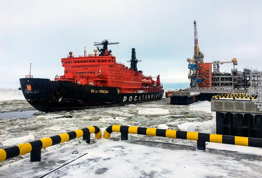 4,4 миллиона тонн сжиженного газа и газоконденсата ушло на экспорт с Ямала