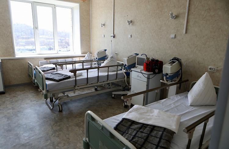 Во Владивостоке дополнительно разворачивают койки для лечения ковидных больных