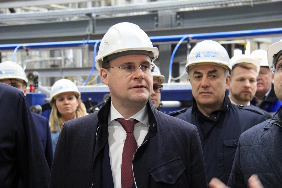 Министр РФ по развитию Дальнего Востока и Арктики Алексей Чекунков посетил ОЭЗ «Алабуга»
