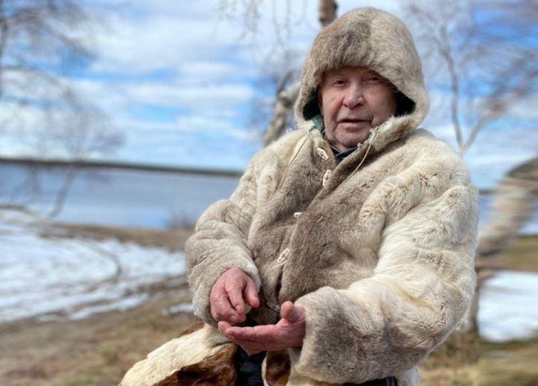Потомственный оленевод из Мурманской области попал в проморолик фильма о рыбаках