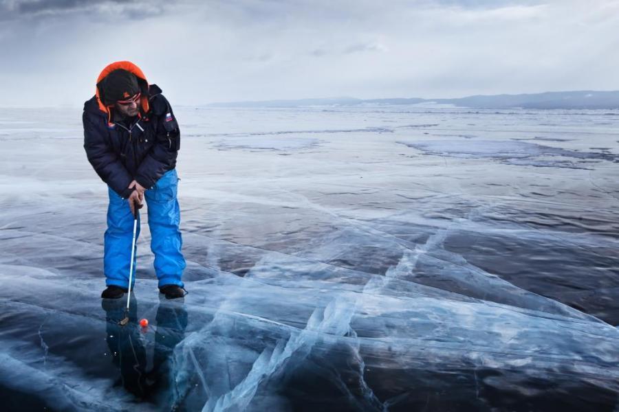 На Байкале впервые пройдет турнир по гольфу на льду