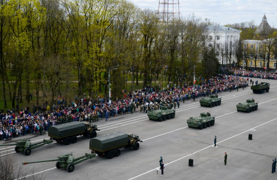 На Смоленщине отметили 76-ю годовщину Великой Победы
