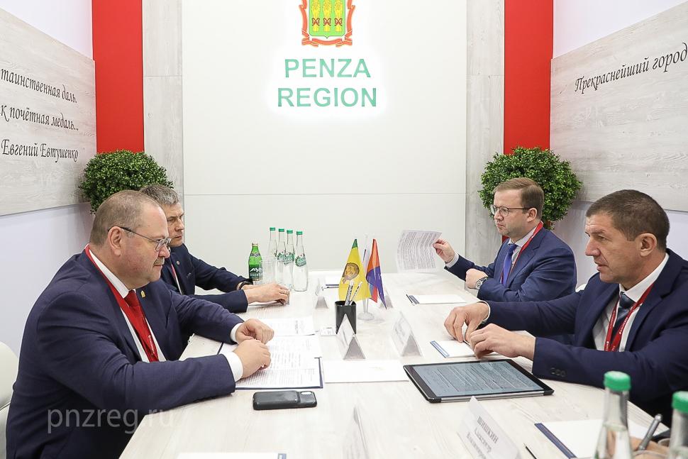 На ПМЭФ обсудили модернизацию инфраструктуры связи Пензенской области