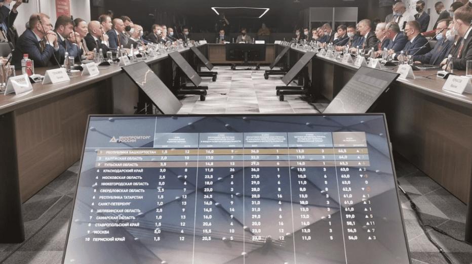Кубань вошла в число наиболее эффективных промышленных регионов РФ