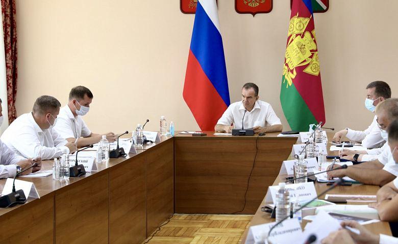 Вениамин Кондратьев поручил к 22 июля завершить жатву на Кубани