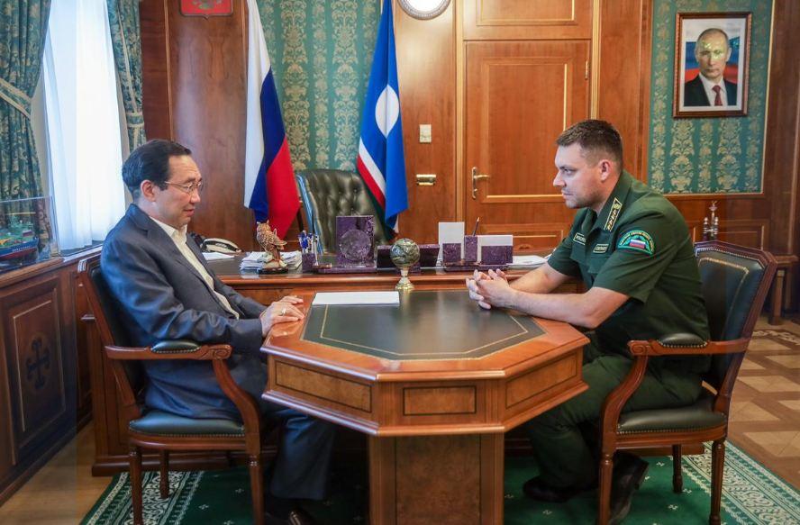 Руководитель Рослесхоза положительно оценил действия Якутии по тушению лесных пожаров