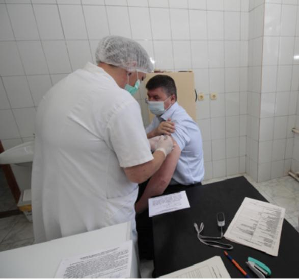 Сотрудники ООО «Картонтара» вакцинировались от коронавируса