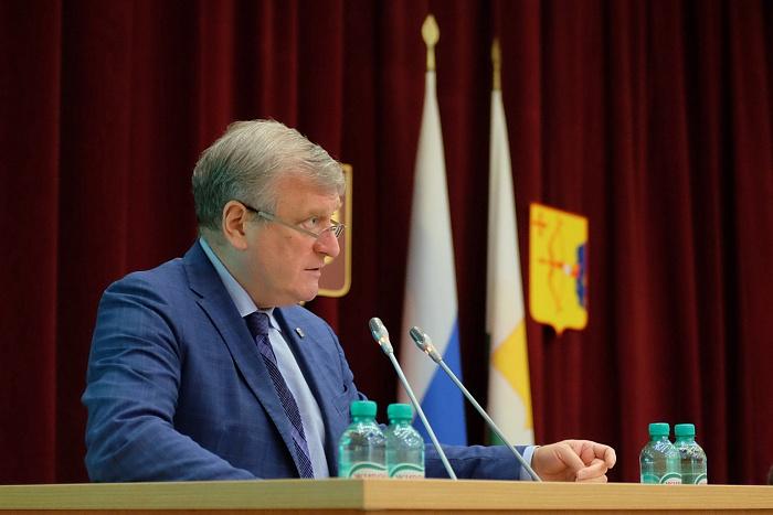 Губернатор Игорь Васильев выступил с отчётом о работе правительства за пять лет