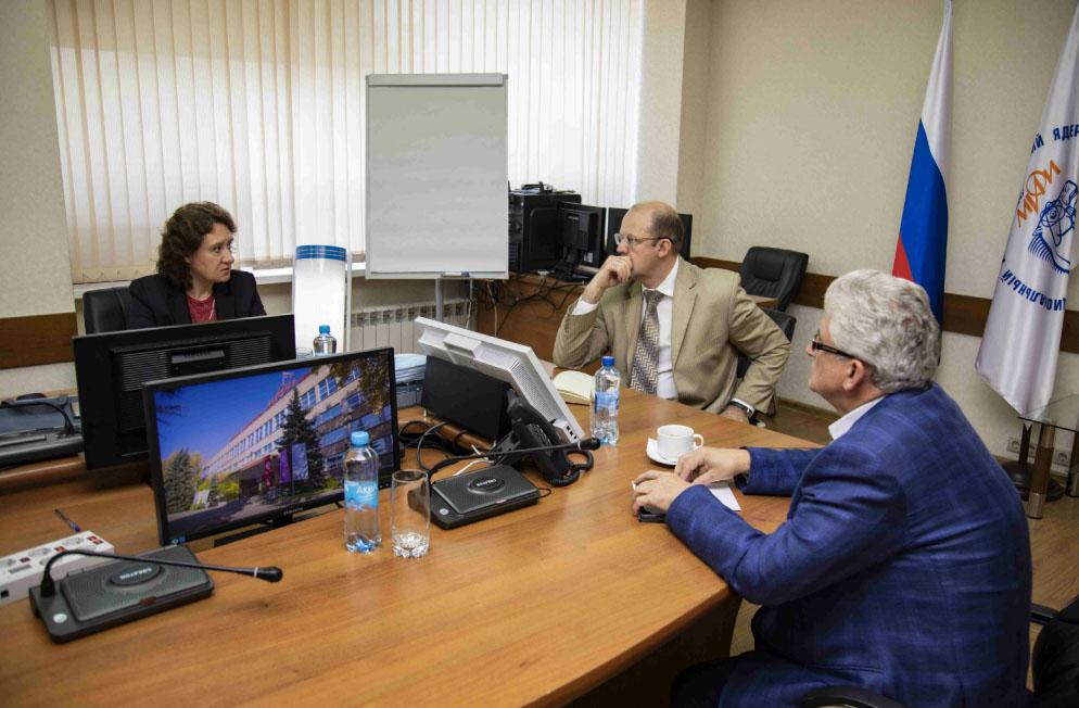 Нововоронежская АЭС и НИЯУ МИФИ планируют реализовать совместный образовательный проект