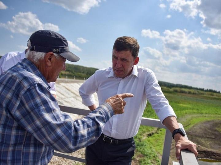 На территориях Свердловской области по поручению губернатора  введен режим ЧС