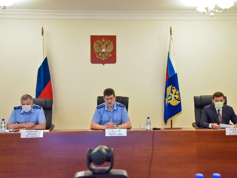 Евгений Куйвашев и Сергей Зайцев обеспокоены ростом производственного травматизма