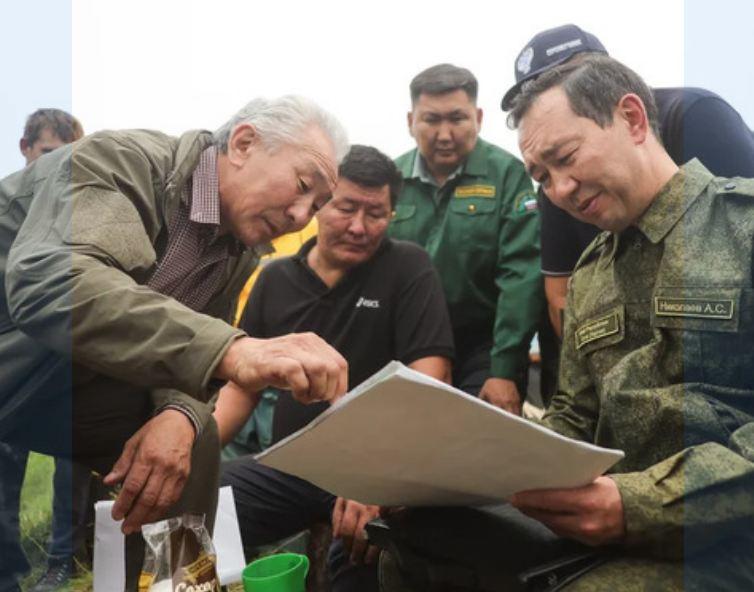 Глава Якутии верно действует в борьбе с пожарами - эксперты
