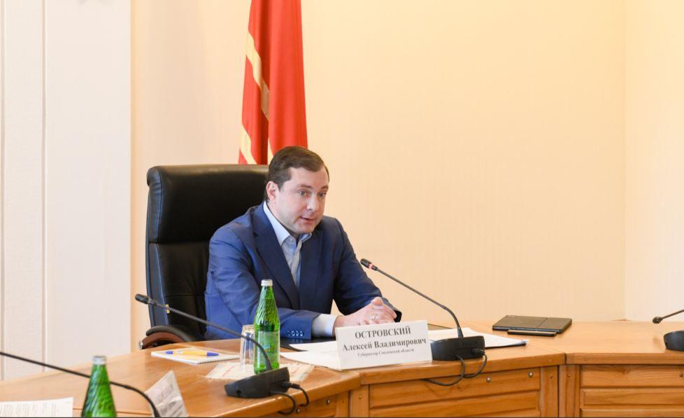 Островский приветствует попадание Смоленщины в ТОП-10 регионов по ежесуточным темпам вакцинации