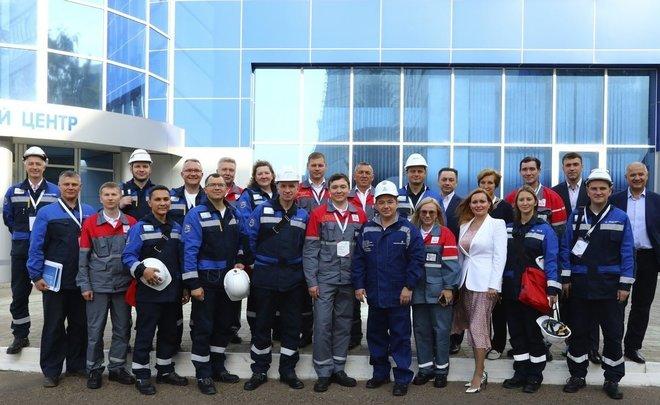 «Мы сверяем пути, выравниваем позиции»: делегация СИБУРа побывала на Нижнекамской ТЭЦ (ПТК-1)