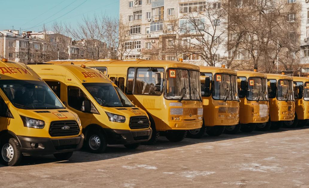 Приамурье получит почти 40 школьных автобусов от Минпросвещения РФ