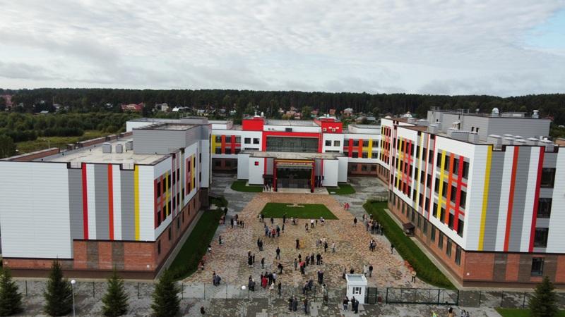 Губернаторский Светленский лицей на 1 100 учащихся открылся под Томском