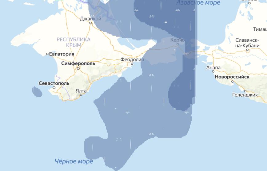 В Симферополе объявили штормовое предупреждение