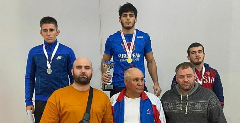Ингушский борец Абдуллах Гелисханов стал золотым призером Первенства Москвы