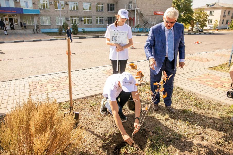 В Нововоронеже заложена Аллея атомщиков в рамках акции «Город первых - город сад»