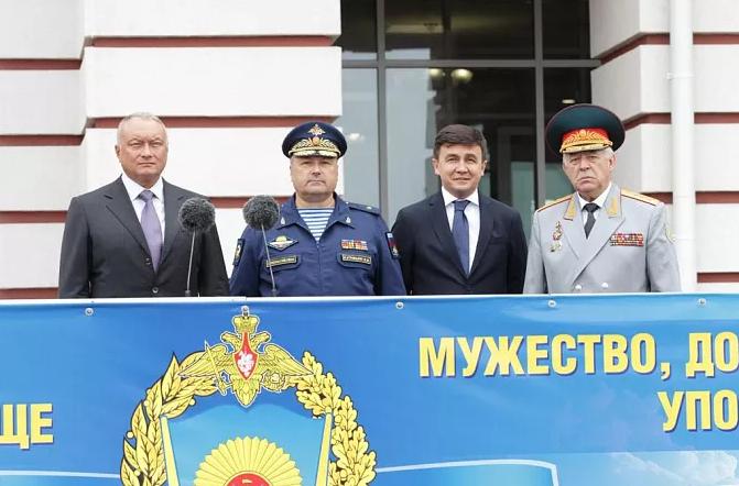 В Туле отпраздновали 5-летие суворовского военного училища