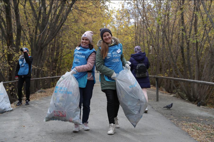 В Екатеринбурге при поддержке РМК прошла акция «Вода России»